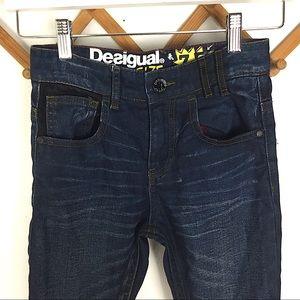 Desigual Bottoms - Desigual   Boys Jeans Size 7-8 Slim Fit